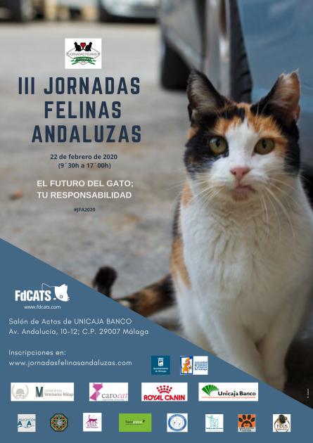 III Jornadas Felinas Andaluzas. Cartel